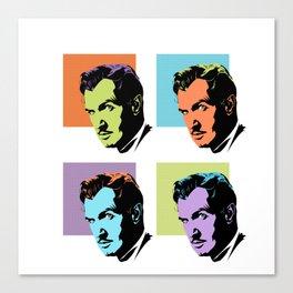 Vincent Price (Pop) Canvas Print