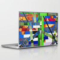 agnes Laptop & iPad Skins featuring Agnes (stripes 16) by Wayne Edson Bryan