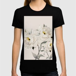 White Peonies T-shirt
