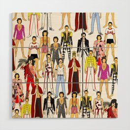 Outfits of Freddie Fashion Wood Wall Art