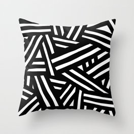 Monochrome 01 Throw Pillow