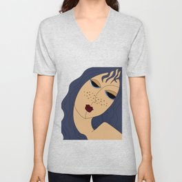 Star Girl Unisex V-Neck