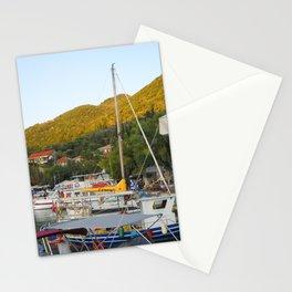 Ionian Sea. Greek Islands 1 Stationery Cards