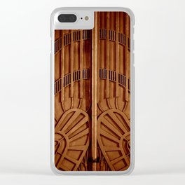 Golden Gates Clear iPhone Case