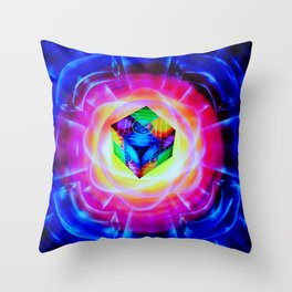 Abstract perfection - Cube Throw Pillow