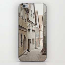 Italian Alley - Muted Tones iPhone Skin
