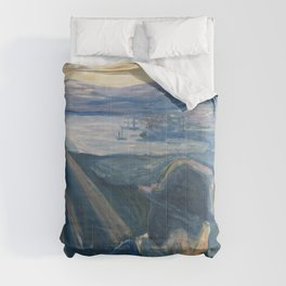 Edvard Munch - Sick Mood at Sunset. Despair Comforters