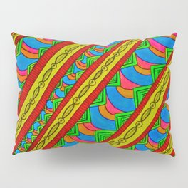 Color in Motion Pillow Sham