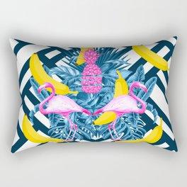 tropical banana fun  Rectangular Pillow