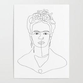 Doña Frida Kahlo Poster
