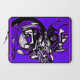 For Travis~His Purple dream Laptop Sleeve