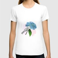 hydrangea T-shirts featuring hydrangea by bloomingj