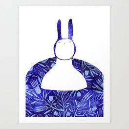 BlueBun Art Print