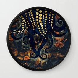 Metallic Ocean Wall Clock
