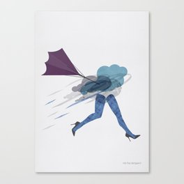 Stressed Canvas Print