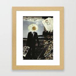 Move To A Bigger City Framed Art Print