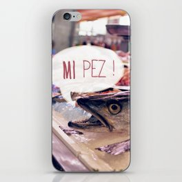 · Mi Pez · iPhone Skin