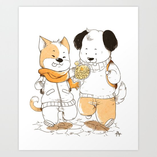 Do you want one ? Art Print