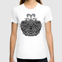 henna T-shirts featuring Henna of Pugly by Huebucket