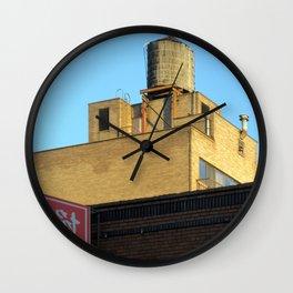 """""""Watertower"""" Chinatown NYC Wall Clock"""