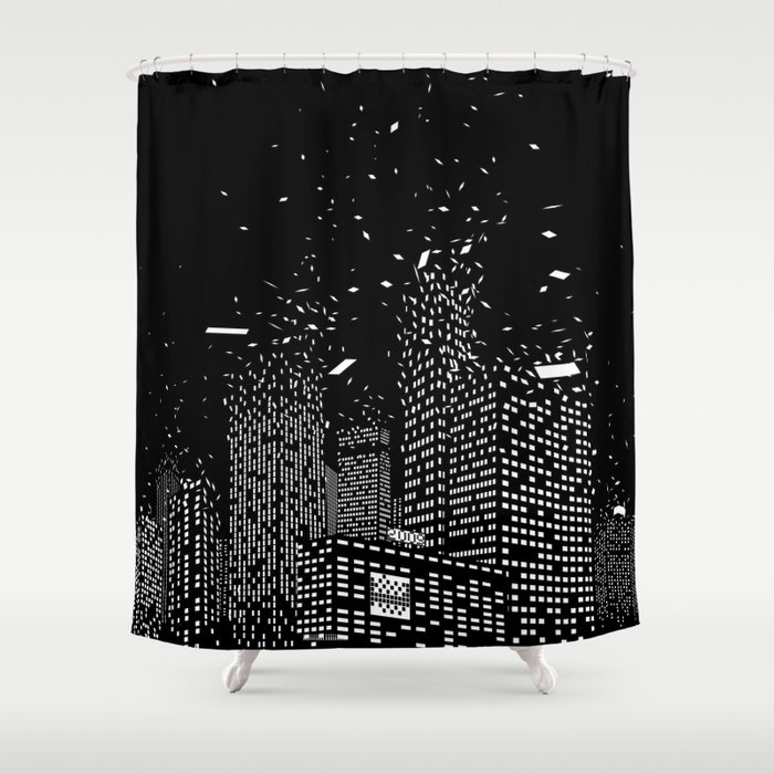 So Long Old World Shower Curtain