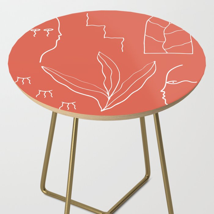 LOS AMANTES Side Table