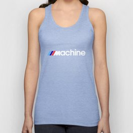 BMW Machine Unisex Tank Top