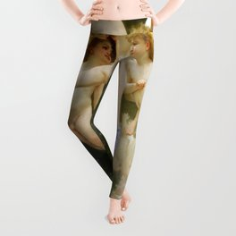 "William-Adolphe Bouguereau ""The Invasion (The Wasp's Nest)"" Leggings"
