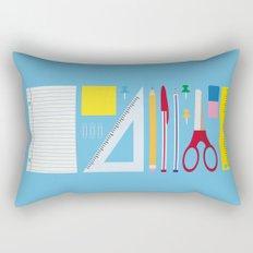 Office Supplies Rectangular Pillow