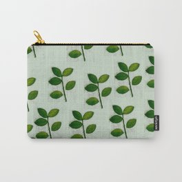 5 Leaves in Mint Carry-All Pouch