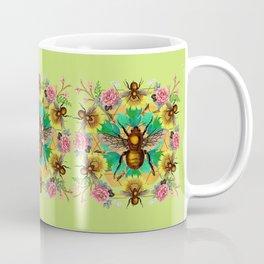 Bee Mandala Coffee Mug