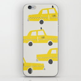 New York Taxicab iPhone Skin
