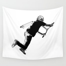 Tail-whip - Stunt Scooter Trick Wall Tapestry
