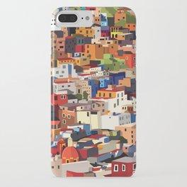 Mexico historical town cityscape (Guanajuato) iPhone Case