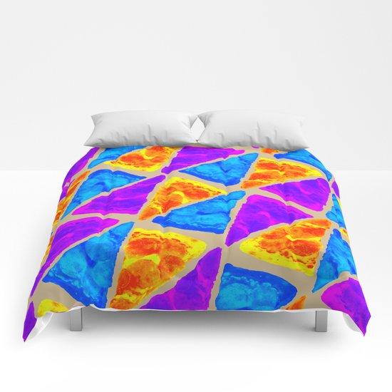 Pizza Paper Comforters