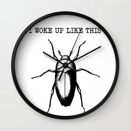 I Woke Up Like This - Gregor Samsa Wall Clock