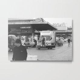 Tsukiji-san Metal Print