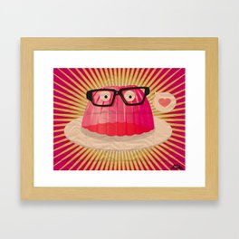 Disguise In Love With You Framed Art Print