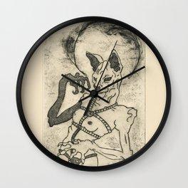 Kiki Pussy Wall Clock