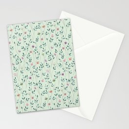Poetic leaves Stationery Cards