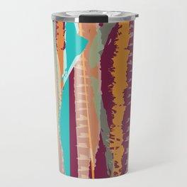 Strokes of colors Travel Mug