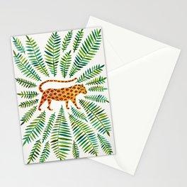 Jaguar – Green Leaves Stationery Cards