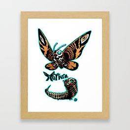 Mothra Kaiju Print FC Framed Art Print