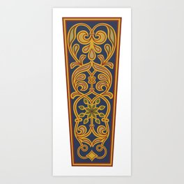 Cordoba mosaic 6 Art Print