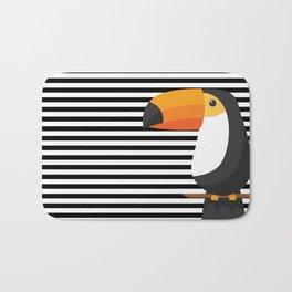TOUCAN tropical toucans Bath Mat