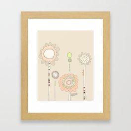 Little Daisies Framed Art Print
