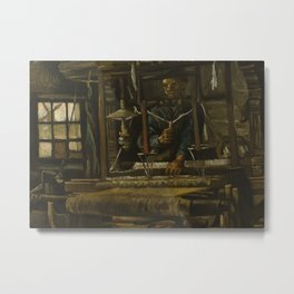 A Weaver's Cottage Metal Print