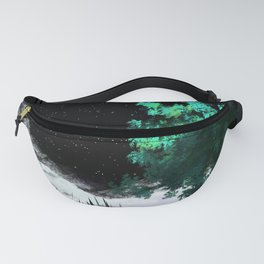 Green amongst the snow Fanny Pack