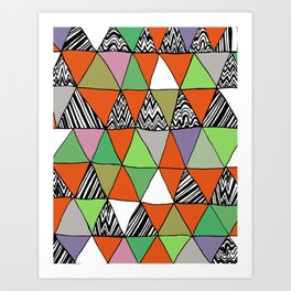 Triangle 2 Art Print