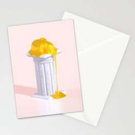 Golden Misery Stationery Cards